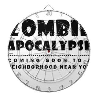 Zombie-Apokalypse Dartscheibe