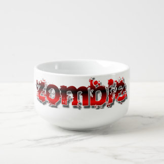 Zombie-Apokalypse Große Suppentasse