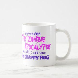 Zombie-Apokalypse Kaffeetasse