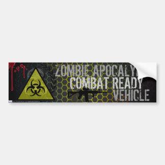 Zombie-Apokalypse-Kampf-bereiter Fahrzeug-Aufklebe Autoaufkleber