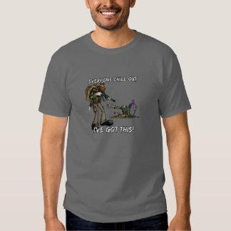 ZOMBIE Apokalypse - kühlen Sie heraus, ich haben Tshirt