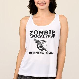 Zombie-Apokalypse-laufende Team-Behälter-Spitze Tank Top