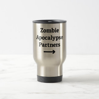 Zombie-Apokalypse partners Pfeil Reisebecher