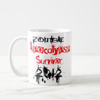 Zombie-Apokalypse-Überlebender 2012 Kaffeetasse