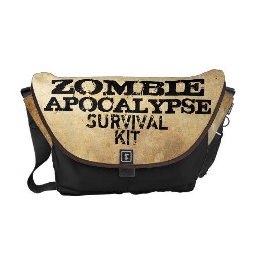 Zombie-Apokalypse-Überlebensausrüstungs-Bote-Tasch Kuriertasche