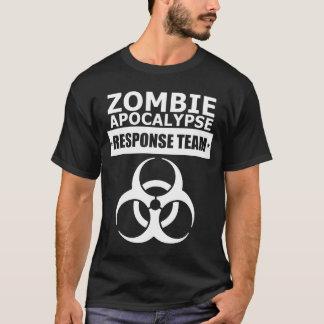 Zombie-Apokalypse-Warteteam-Dunkelheits-T - Shirts