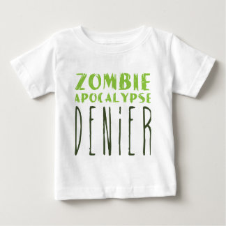 Zombie-Apokalypseverweigerer Baby T-shirt