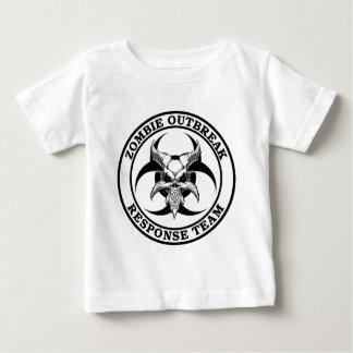 Zombie-Ausbruch-Biogefährdung-Dämon Baby T-shirt