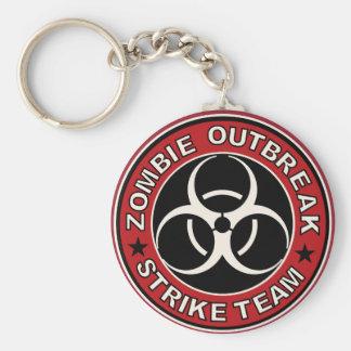 Zombie-Ausbruch-Streik-Team Keychain Schlüsselanhänger