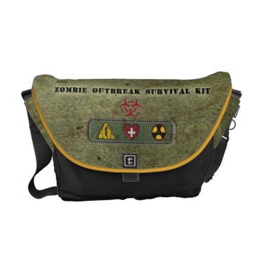 Zombie-Ausbruch-Überlebensausrüstung Kuriertasche