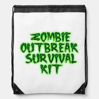 Zombie-Ausbruch-Überlebensausrüstung Sportbeutel