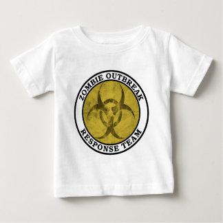 Zombie-Ausbruch-Warteteam (Biogefährdung) Baby T-shirt