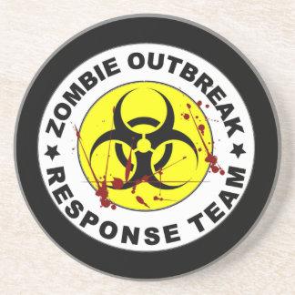 Zombie-Ausbruch-Warteteam Getränkeuntersetzer