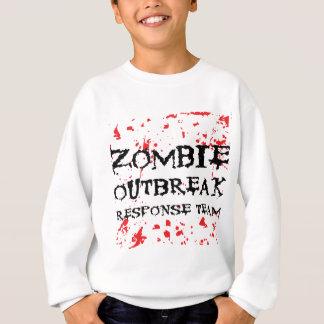 Zombie-Ausbruch-Warteteam Sweatshirt