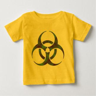Zombie-Biogefährdung-Symbol Baby T-shirt