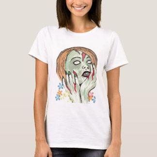 Zombie-Blumen-Power T-Shirt