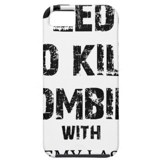 Zombie-Bürgschaft Merch Etui Fürs iPhone 5