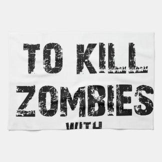 Zombie-Bürgschaft Merch Geschirrtuch