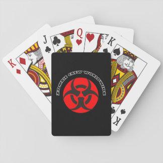 Zombie-Crew weltweit Spielkarten