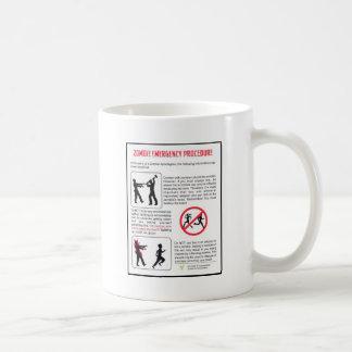 Zombie-Dringlichkeitsverfahren Kaffeetasse