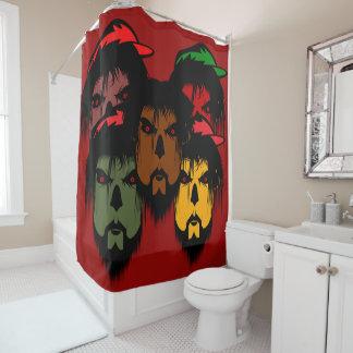 Zombie-Duschvorhang Duschvorhang