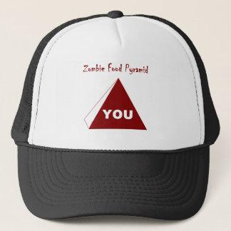 Zombie-Ernährungspyramide Z Truckerkappe