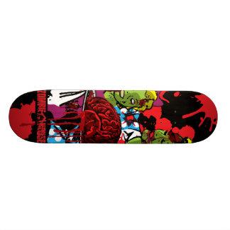 Zombie essen Gehirn-Skateboard Skateboard Bretter