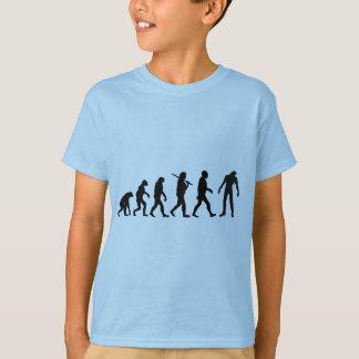 Zombie-Evolutions-T - Shirt-Entwurf T-Shirt