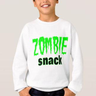 Zombie-Geschenk-Zombie-Imbiss-Logo-Zombiet-stück Sweatshirt