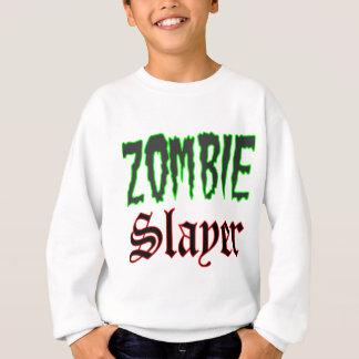 Zombie-Geschenk-ZombieSlayerlogo Sweatshirt