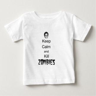 Zombie-Geschenke Qpc Schablone Baby T-shirt
