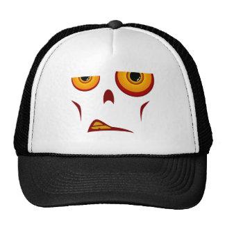 Zombie-Gesicht - Knäuel-Fernlastfahrer-Hut Mützen
