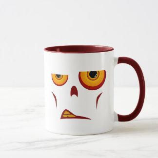 Zombie-Gesicht - Knäuel-Tasse Tasse
