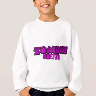 ZOMBIE-GETTO SCHRIFTLICHES LOGO 3 SWEATSHIRT