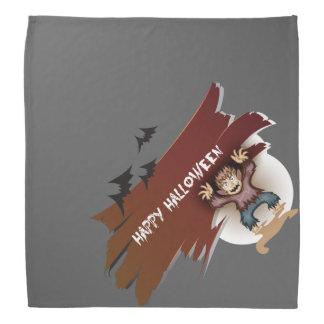 Zombie glückliches Halloween Halstuch