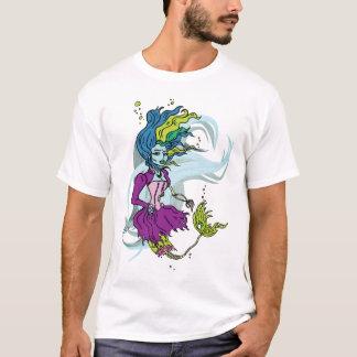 Zombie Goth Meerjungfrau-T - Shirt