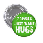 Zombie-Halloween-Knopf Anstecknadelbuttons