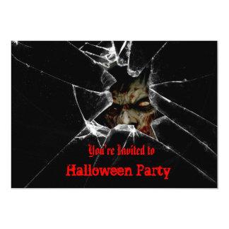 Zombie-Halloween-Party-Einladung 12,7 X 17,8 Cm Einladungskarte
