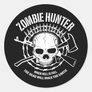 Zombie-Jäger-Aufkleber