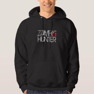 ZOMBIE-JÄGER-Blut platscher Hoodie