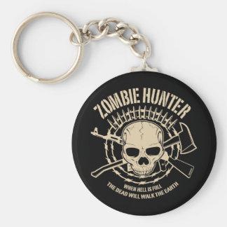 Zombie-Jäger Keychain Schlüsselband