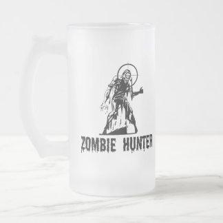 Zombie-Jäger Matte Glastasse