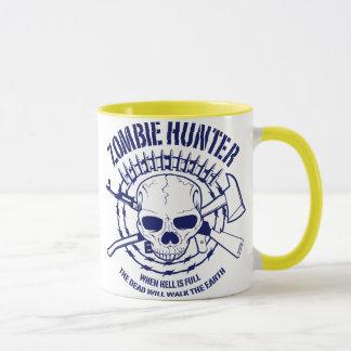 Zombie-Jäger-Tasse Tasse