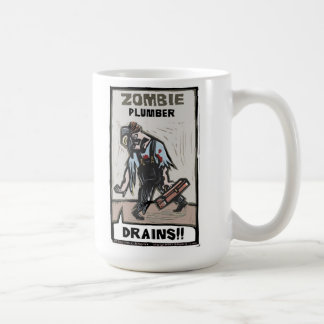 Zombie-Klempner Kaffeetasse