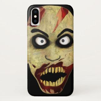 Zombie-Kopf iPhone X Hülle