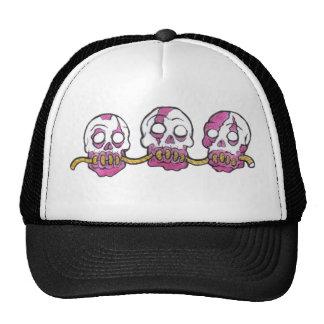 Zombie-Köpfe zusammen gezeichnet Baseballcap