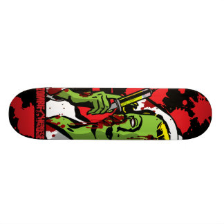 Zombie-Krankenschwester-Skateboard Personalisiertes Skateboarddeck