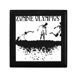 Zombie-Lauf Erinnerungskiste