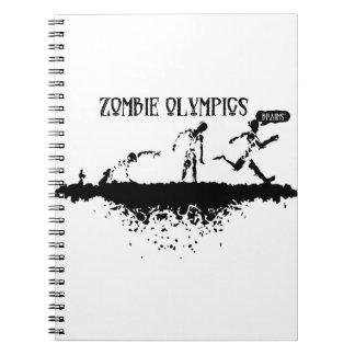 Zombie-Lauf Notizblock
