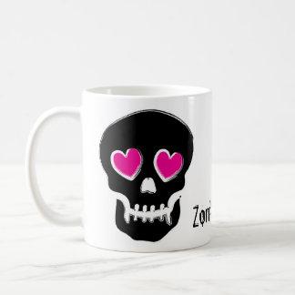Zombie-Liebe Kaffeetasse